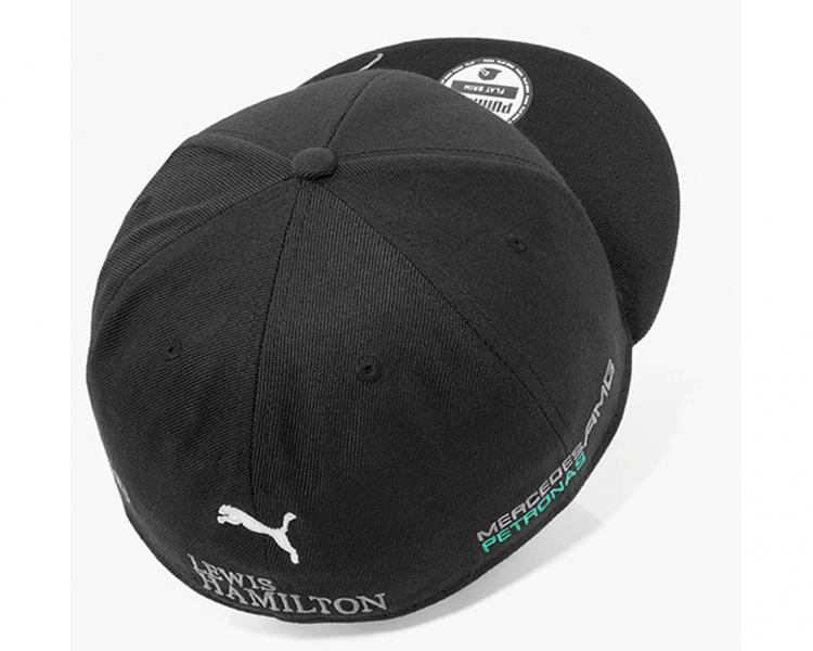 Lewis hamilton cap mens black mercedes amg petronas for Mercedes benz amg hat