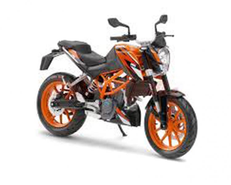 200 Duke Model Bike