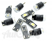 BMW ALL SERIES INTERIOR LIGHTING PACKAGE LED-SET OF 10 ACCESSORIES GENUINE OEM