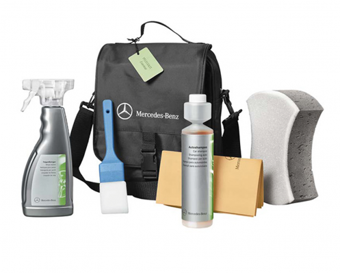 Exterior care kit car shampoo genuine mercedes benz for Mercedes benz cleaning products