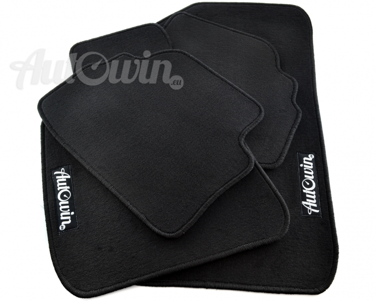 Audi A3 Floor Mats With Autowineu Emblem LHD Side with Clips