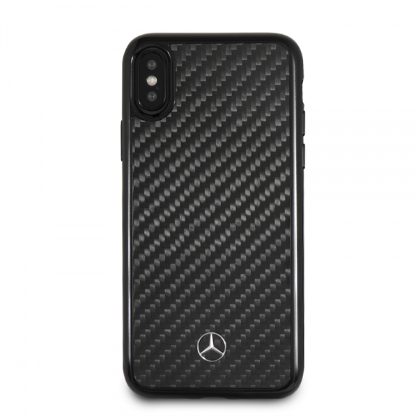 Mercedes-Benz iPhone X Genuine Carbon Fiber Hard Case