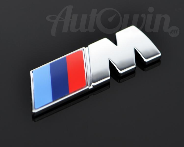 Genuine M Sport Tri Color Emblem Logo Original Oem