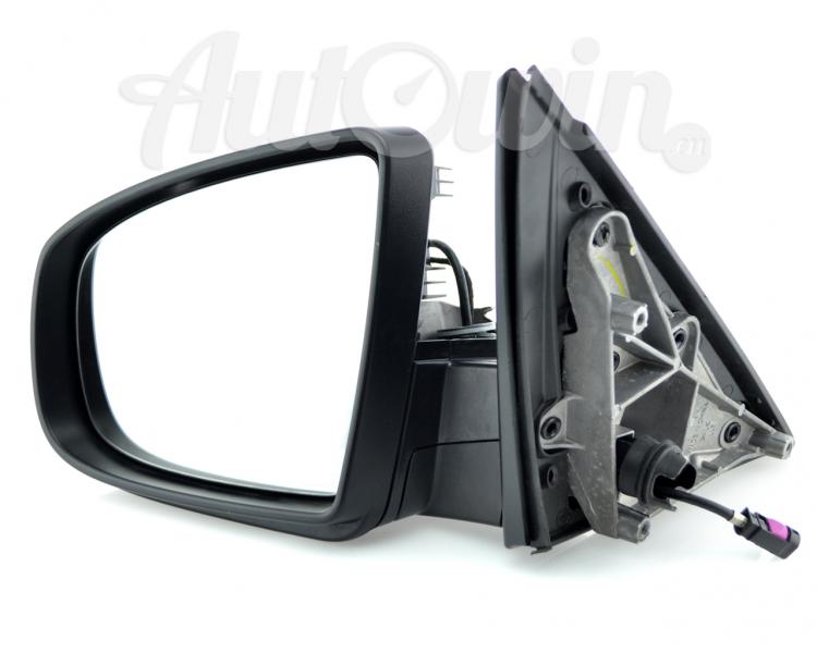 Bmw X6 Series E71 Mirrors With Camera Auto Dim Auto Fold Set Top View