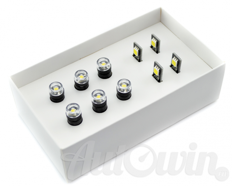 Pictures represent actual item You will receive. If You are not sure about fitment please feel free to contact us.  sc 1 st  AutoWin.EU & BMW ALL SERIES INTERIOR LIGHTING PACKAGE LED-SET OF 10 ACCESSORIES ... azcodes.com