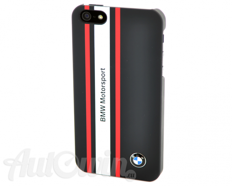 BMW MOTORSPORT COLLECTION HARD CASE IN BLACK / IPHONE 5/5s