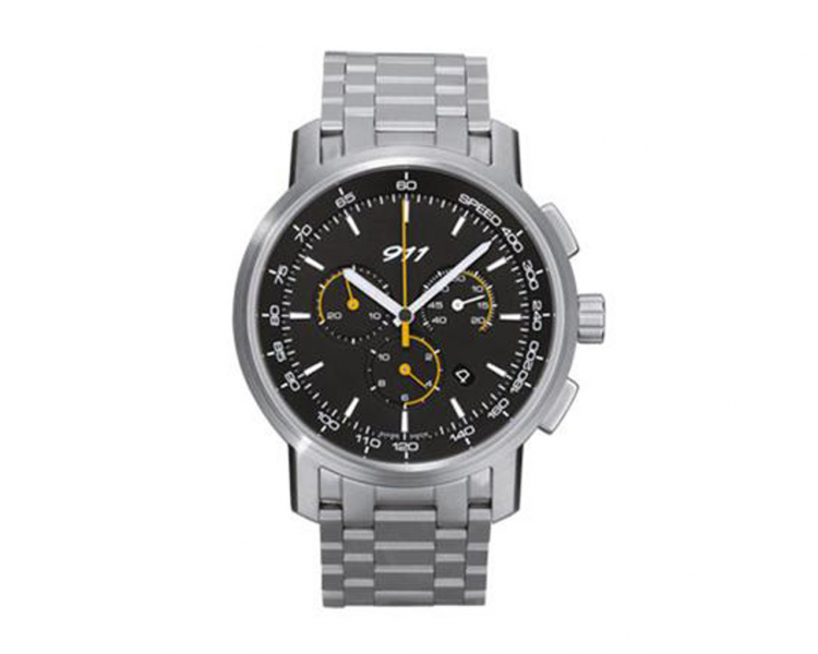 911 chronograph stainless steel